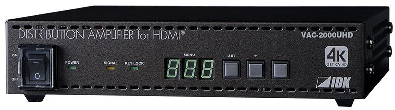 IDK 推出兩款對應 HDCP 2.2 的 4K HDMI 分線器