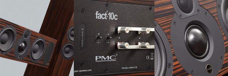 帶領 Fact. 家族進入環繞聲時代,PMC 推出 Fact.5c 與 Fact.10c 兩款中置喇叭