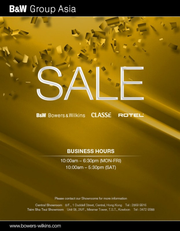 B&W Big Sales