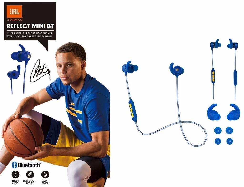JBL Reflect Mini BT Stephen Curry Signature Edition