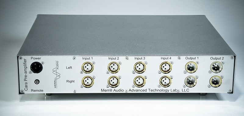 Merrill Audio 推出全新 Cara 前級放大器