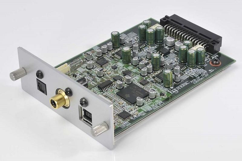 數碼功能降臨,Esoteric 推出 F-05 及 F-03A 專用的解碼擴充咭 OP-DAC1