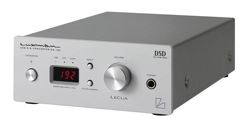 LUXMAN 推出具 DSD 解碼功能的 USB DAC + 耳機放大器 DA-150