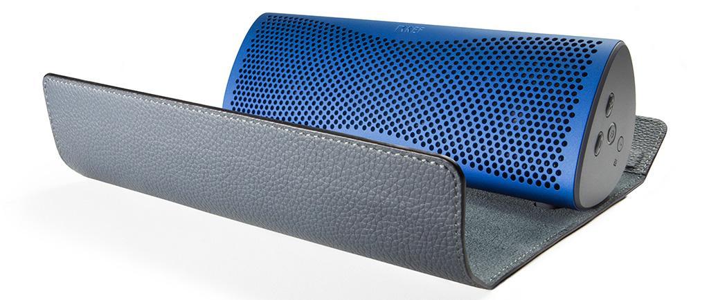 全新 KEF MUO 無線揚聲器皮革保護套隆重登場
