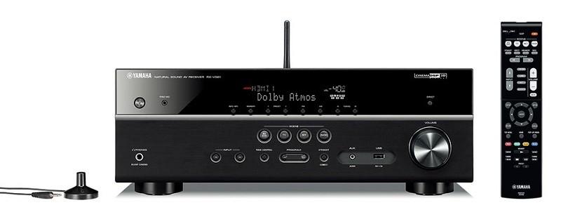 YAMAHA 推出全新對應 Dolby Atmos / DTS : X 的入門 AV 放大器 RX-V581