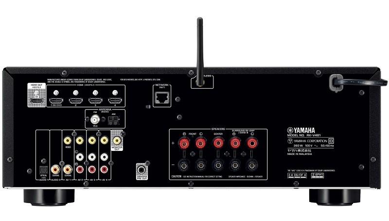 YAMAHA 推出全新對應4K直通及高清音效的AV 放大器 RX-V481