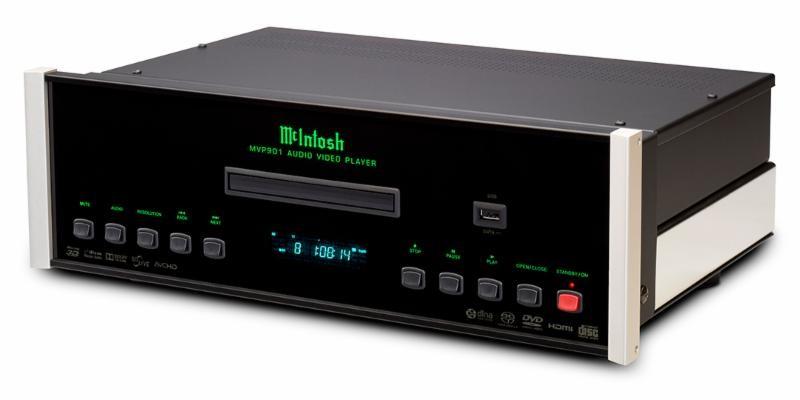 McIntosh 推出全新 4K UHD blu-ray 播放器 MVP901-AV Player