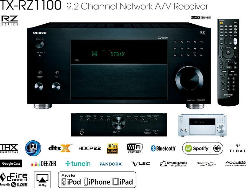 Onkyo 新一浪旗艦級家庭影院 全新 THX 認證 RZ 系列影音擴音機