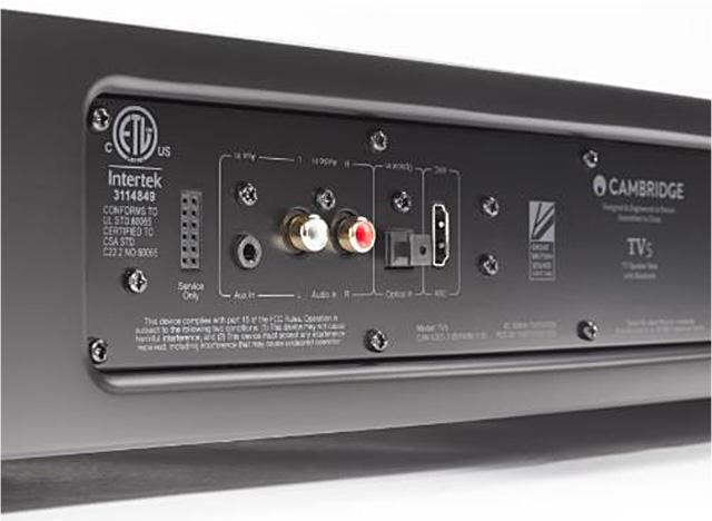 Cambridge Audio – TV2 及 TV5 v2 電視底座揚聲器