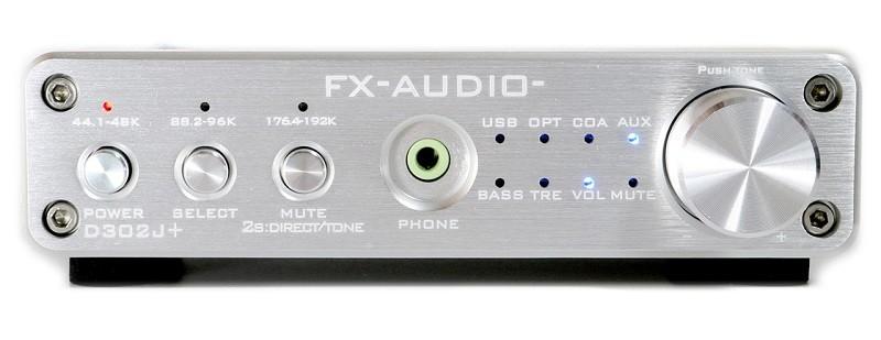 小巧中堅,FX-AUDIO 推出全新合併式數碼放大器 D302J +