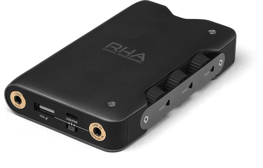 英國 RHA Dacamp L1 內建 DAC 解碼便攜式耳機放大器