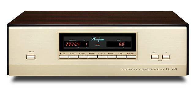 ACCUPHASE 推出旗艦解碼器 DC-950