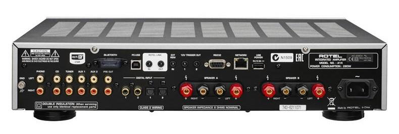 功能齊全,Rotel 推出全新多功能合併式放大器 A14
