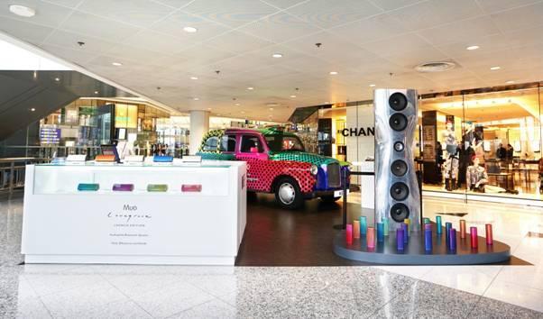 「KEF 聲‧色之旅 Pop-Up Store」進駐香港機場