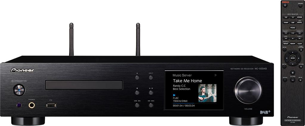 Pioneer NC-50DAB  兩聲道網絡 CD 擴音機