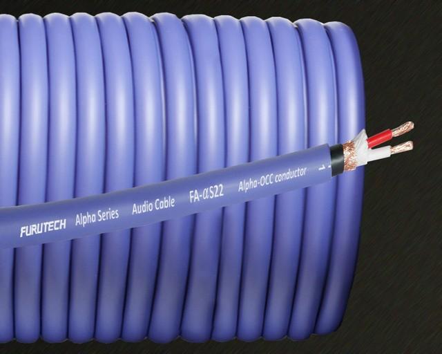 α-OCC 導體加持,Furutech 推出全新電源線 FA-αS22