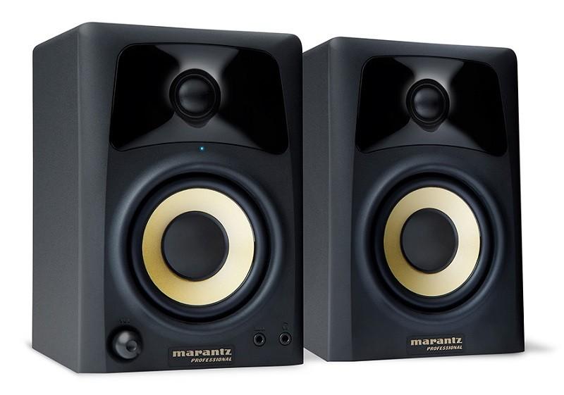 日本 inMusic 推出 marantz Professional 專業用監聽書架喇叭 Studio Scope 3