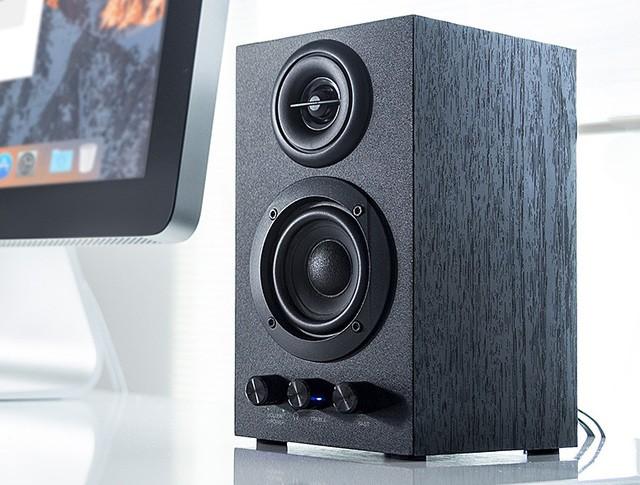 SANWA 推出全新木製電腦書架喇叭 400-SP068