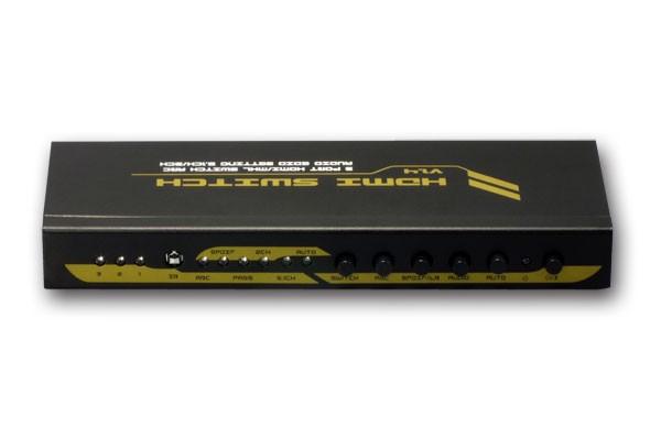 輕鬆切換 4K,RATOC Systems 推出三入一出的 HDMI 選擇器 RP-HDSW31A