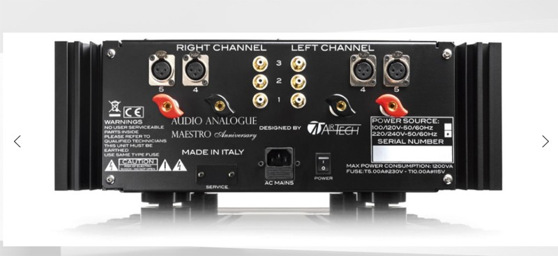 旗艦降臨,AUDIO ANALOGUE 推出 Maestro Anniversary 紀念版合併式放大器