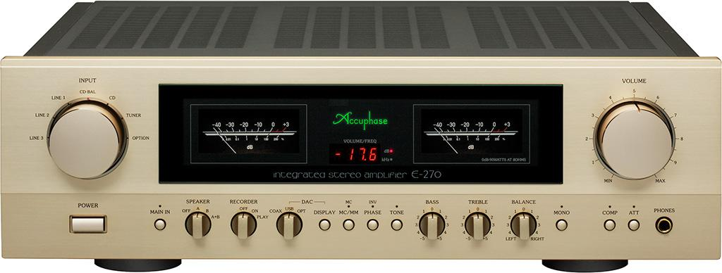 全面強化供電的 Accuphase E-270 合併擴音機