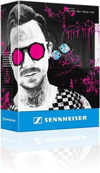 Sennheiser 與 Martin Solveig 攜手打造全新 IE 80 限量版耳機