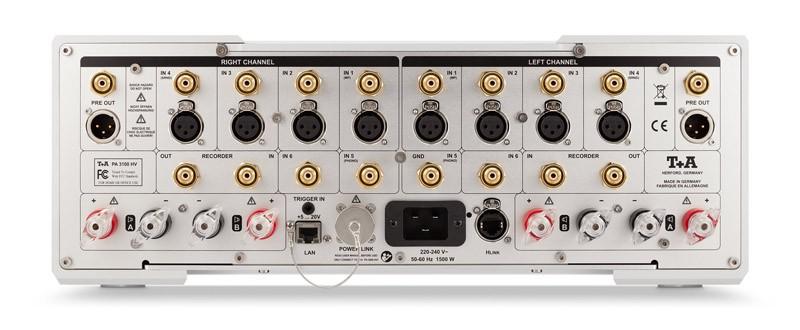 德意志之作,T+A 推出全新 PA 3100 HV 合併式放大器