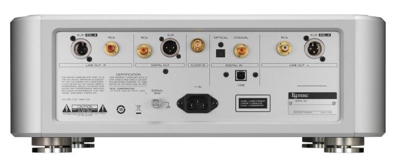 Esoteric 推出全新旗艦一體化 SACD/CD 機 K1 及合併式擴音機 F1
