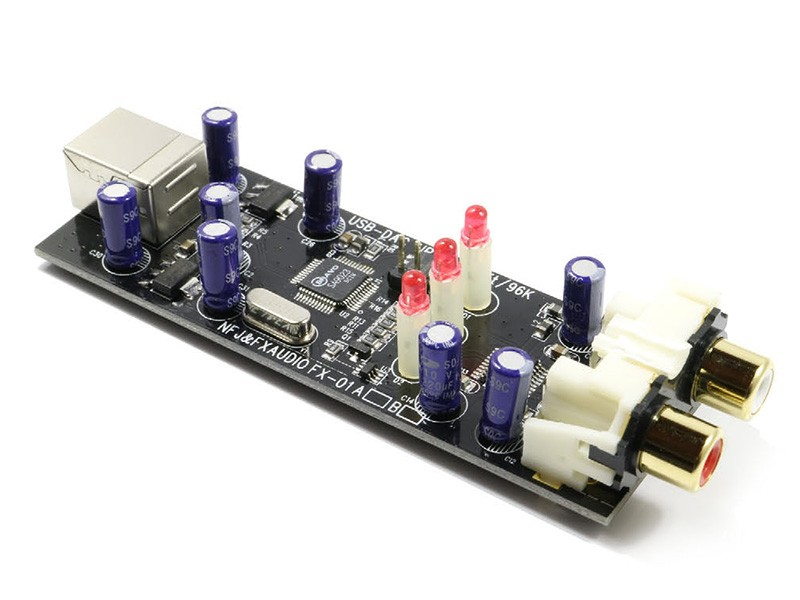 FX-AUDIO 推出小型 USB 解碼器 AUDIO DAC FX-01A