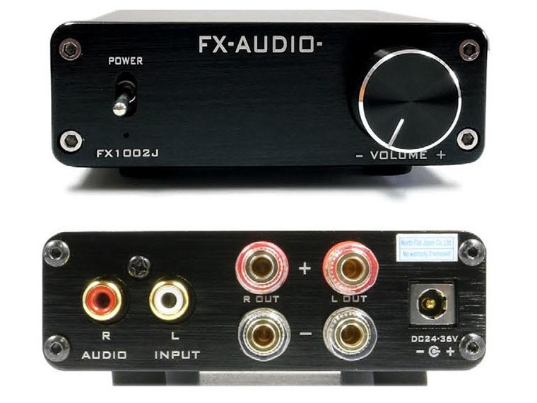 新色來襲,FX-AUDIO 重新推出 FX1002J 小型數碼放大器