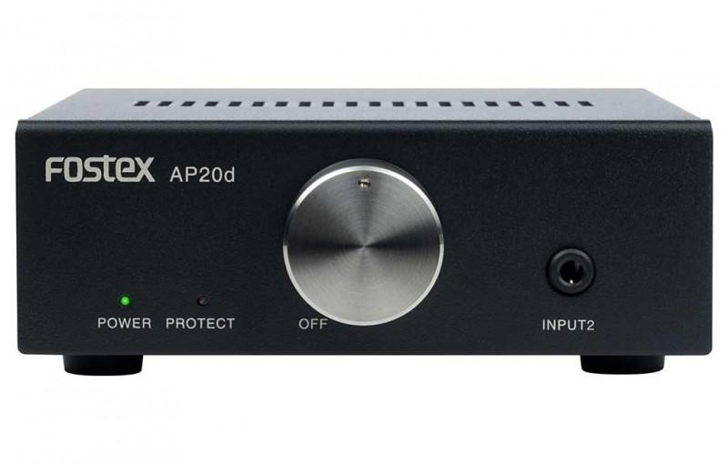 Fostex 推出全新具備 Hi-Res 規格的小型放大器 AP20d