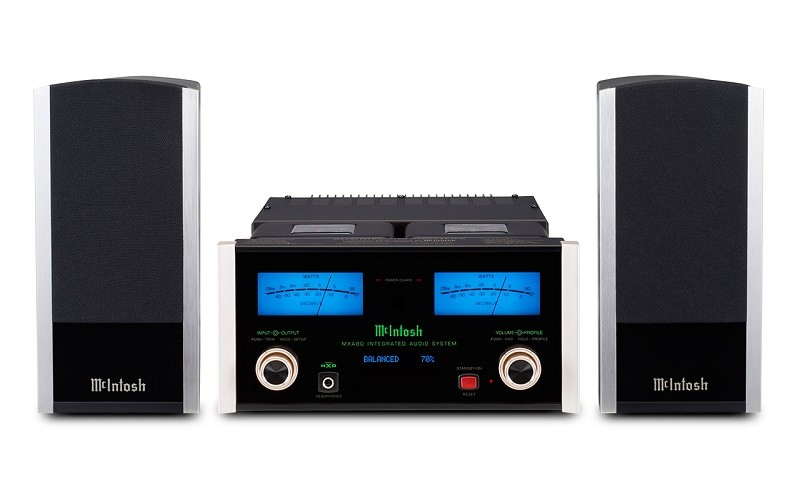 小巧奢華,McIntosh 推出全新一體式音響系統 MXA80