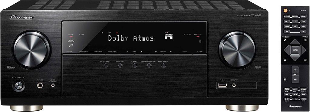 Pioneer 推出全新 5.1 聲道 VSX-832 及 7.2 聲道 VSX-932 網絡影音擴音機