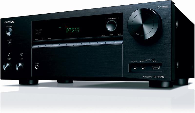 Onkyo TX-NR676E 為家庭影院帶來最新影音及技術的中階擴音機
