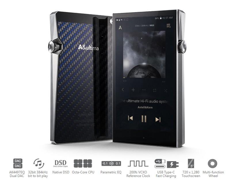 皇者降臨,Astell&Kern 推出全新旗艦播放器 A&Ultima SP1000