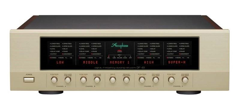 Accuphase 推出全新數碼電子分音DF-65