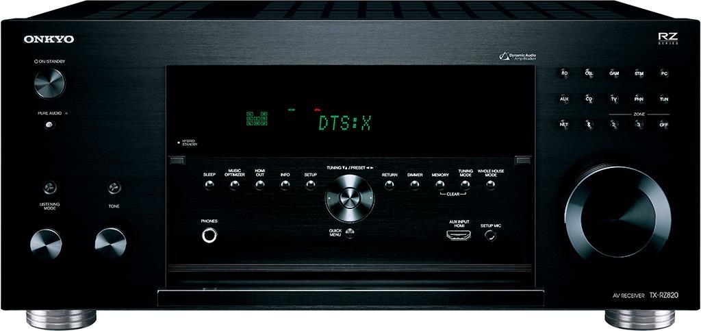 Onkyo 中階 RZ 系列 TX-RZ820 影音擴音機解放7聲道完美音色