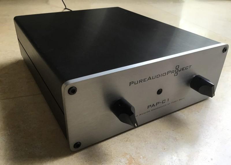 PureAudioProject 推出全新主動式模擬分音器 PAP-C1