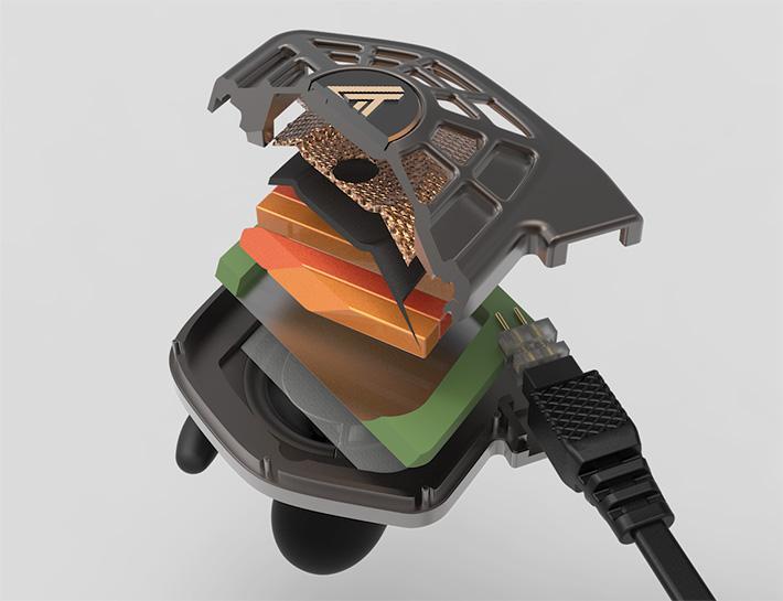 Audeze 首款場極式平面單元入耳式耳機 iSINE 系列
