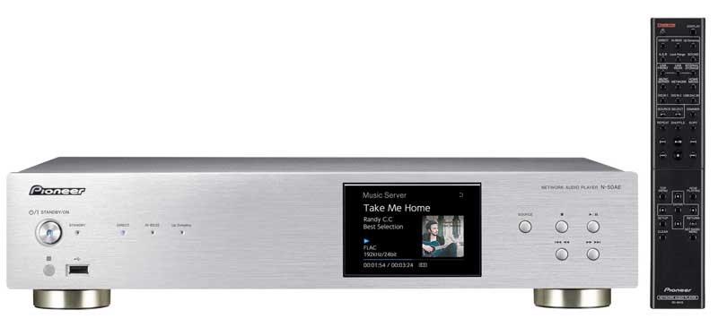 Hi-Res 播放孖寶,Pioneer 推出全新 N-70AE 及 N-50AE 網絡播放器