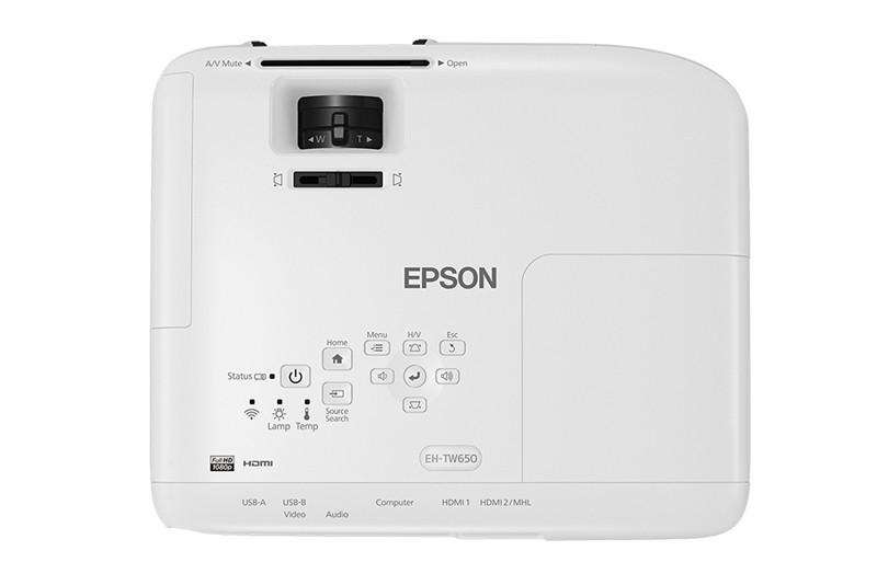 Epson 推出超低價入門級投影機 EH-TW650