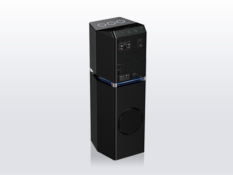 全新一体型无线音响系统,Panasonic 推出 SC-UA7 多功能音柱