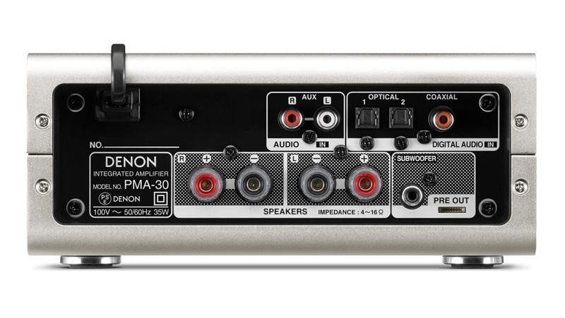 實用至上,Denon 推出小型數碼放大器 PMA-30