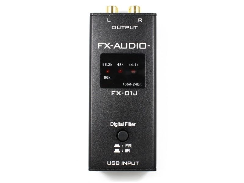 FX-AUDIO 推出两款小型 USB 解码 NFJ FX-01J TYPE-A / FX-01J TYPE-B