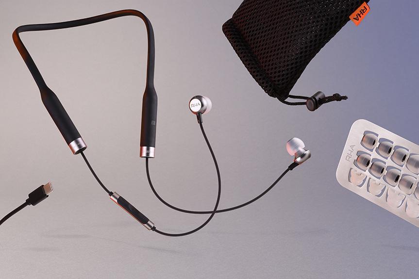英国 RHA MA650 Wireless 流动自如 铝合金无线蓝芽 aptX 耳机