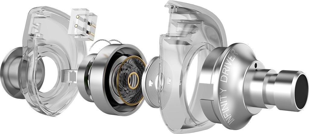 由「天空之石」帶來的創新混合單元設計:AZLA 入耳式鑑聽耳機