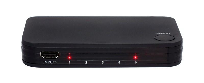 RATOC Systems 推出對應4K / 60Hz 的 4 入 1 出 小型 HDMI 選擇器 RP-HDSW 41-4K