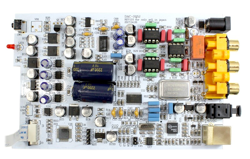 FX-AUDIO 推出全新小型 USB 解碼器 DAC-SQ5J