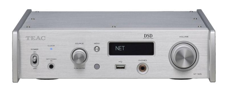 全新「5」系降臨(二),TEAC 推出 USB DAC / 網絡播放器 NT-505