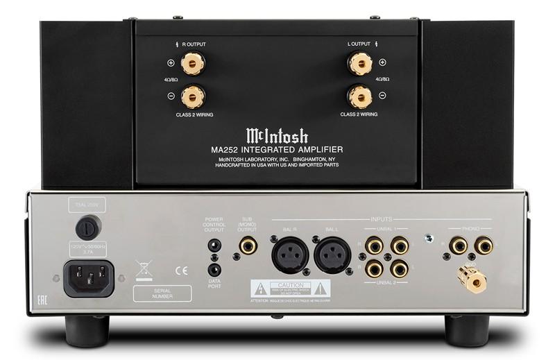 混血初號機,McIntosh 推出全新合併放大器 MA252